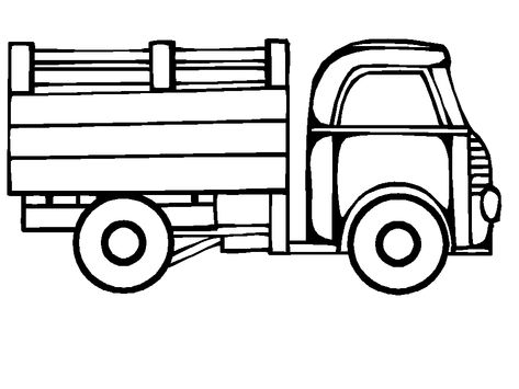 Coloring Page Truck Coloring Pages 4 Coloring Pages For Kids