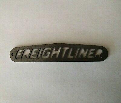 Ebay Ad Url Rare Vintage Freightliner Big Rig Truck Metal Emblem