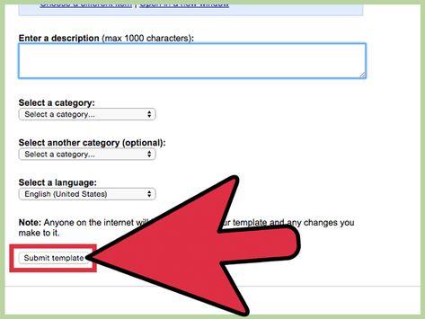 google docs pamphlet template