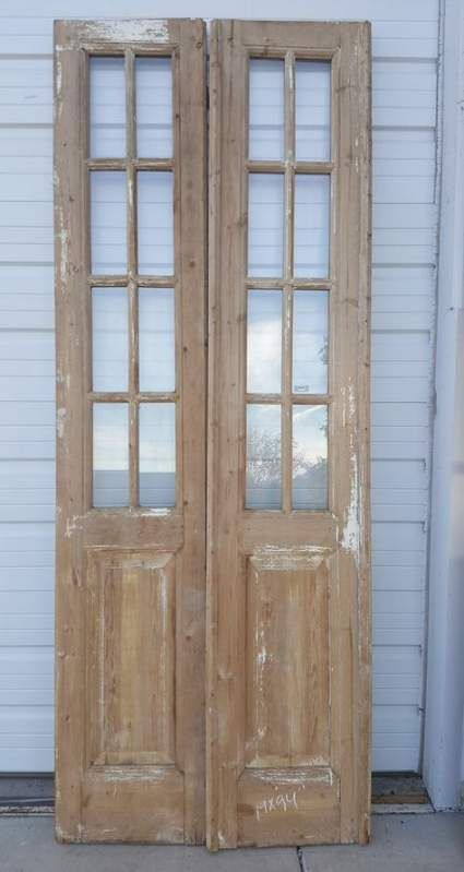 Rustic French Closet Door 23 Super Ideas Door Closet Antique French Doors Wood French Doors