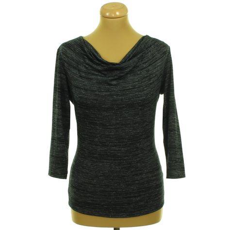 olcsóbb megfizethető áron új, kiváló minőségű George szürke-fekete melírozott felső   Felső, pulóver, póló - Női ...