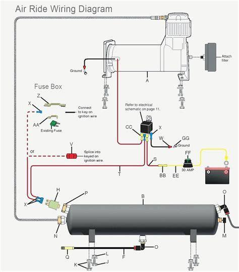 Wiring Diagram Of Compressor In 2020 Air Ride Air Bag Diagram