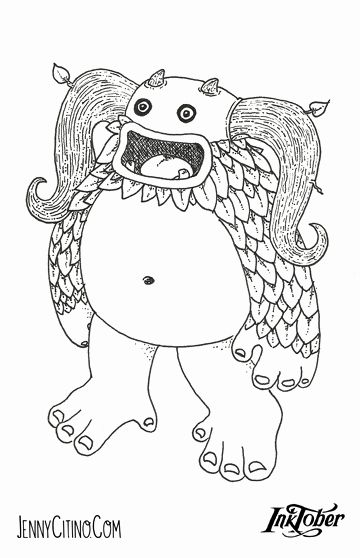 My Singing Monsters Coloring Book Beautiful My Singing Monsters Coloring Pages Sketch Coloring Page In 2020 My Singing Monsters Monster Coloring Pages Coloring Books