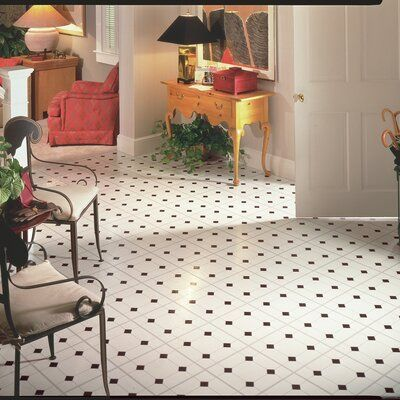 Armstrong Flooring Afton Diamond Jubliee 12 X 12 X 0 1 Mm Vinyl Tile In 2020 White Vinyl Flooring Vinyl Tiles Vinyl Flooring Kitchen