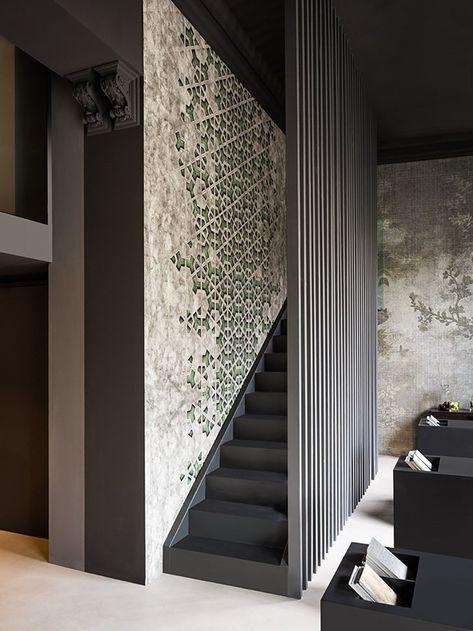Contemporary Wallpaper Wall Decò Nel 2019 Disegno Loft