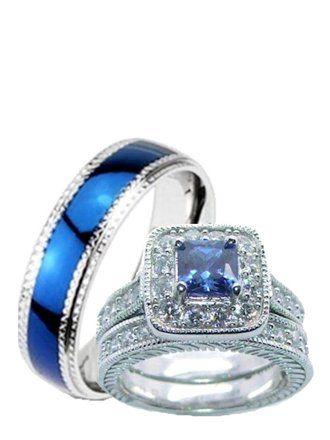 Wedding Ring Sets Walmart Com Wedding Ring Sets Sapphire Wedding Ring Set Ruby Wedding Rings