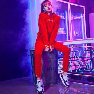 Lisa Ver — Adidas Korea New Falcon Campaign #BLACKPINK #블랙