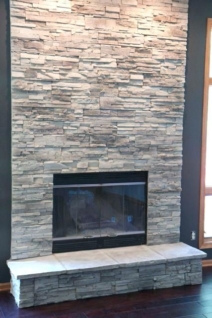 Best Stone For Fireplace Best 25 Stacked Stone Fireplaces Ideas On