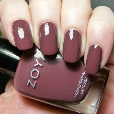 My Thoughts on Marsala, Pantone's Color of the Year 2015 and Zoya Marney | Pointless Cafe