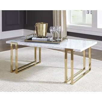 Tabetha Solid Coffee Table En 2020 Mesas De Comedor Mesas Con