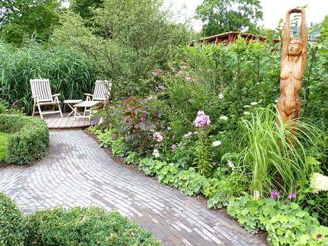 Kleine Gärten harmonisch gestalten Kleine gärten, Aspekte und - sitzecke im garten gestalten 70 essplatze