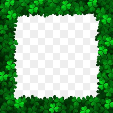 Clover Rectangle Border Clover St Patrick Border Png Transparent Clipart Image And Psd File For Free Download In 2021 Shamrock Clipart Free Artwork Clip Art