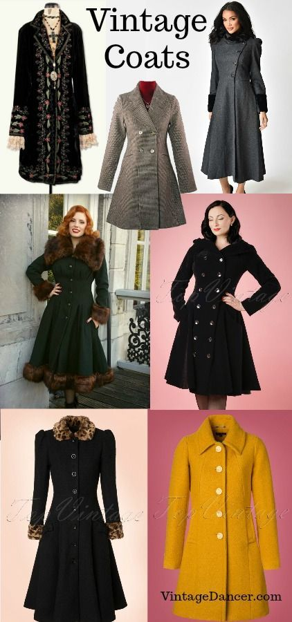 Vintage Coats & Jackets | 1940s Fashion History in 2019