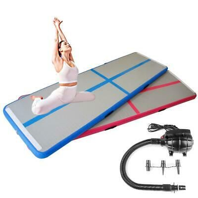 Ad Ebay Link 10ft Inflatable Gymnastics Air Track Tumbling Mat For Home Use Kidstraining Mz In 2020 Tumble Mats Gymnastics Tumbling Mat Gymnastics Pad