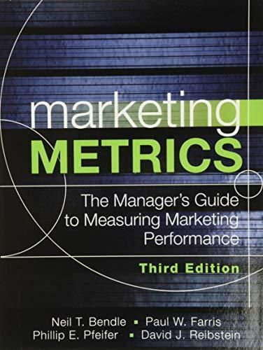 Marketing Metrics: The Manager's Guide to Measuring Marketing Performance - Default