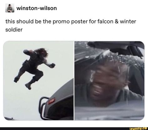 Find images and videos about Avengers, sebastian stan and bucky barnes on We Heart It - the app to get lost in what you love. Funny Marvel Memes, Marvel Jokes, Dc Memes, Avengers Memes, Marvel Dc Comics, Marvel Avengers, Funny Memes, First Marvel Comic, Superhero Memes
