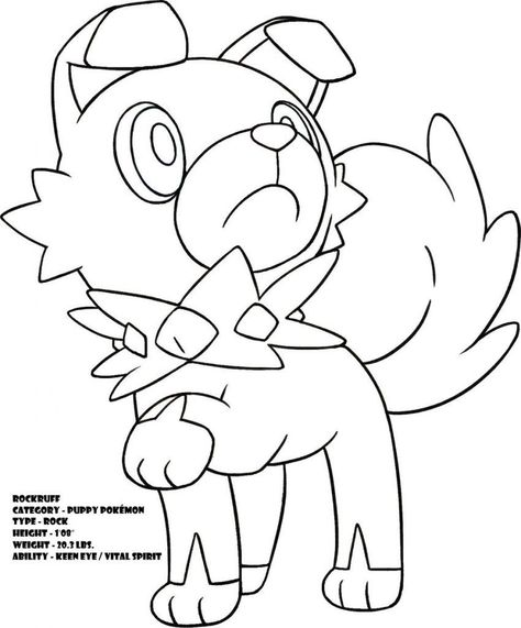 Pokemon Coloring Sheets Sun And Moon Pokemon Coloring Pages