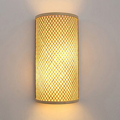 Cool Modern Contemporary Wall Lamps Sconces Indoor Wood Bamboo Wall Light 220 240v 40 W E27 2020 Us 137 3 Contemporary Wall Lamp Wall Lamp Wall Lights