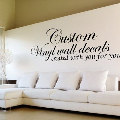 Design Your Own Quote Custom Wall Art Decals Design Your Own Quote Custom Wall Decal Custom Wall Decal Wall Decals Decal Wall Art