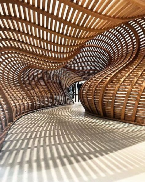 New modern furniture plans architecture ideas Architecture Paramétrique, Organic Architecture, Futuristic Architecture, Amazing Architecture, Contemporary Architecture, Installation Architecture, Light Installation, Photo D'architecture, Architecture Organique