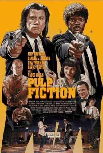 Pulp Fiction Classic Large Movie Poster Print