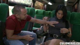 Порно автобус маршрутка