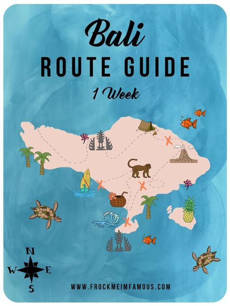 One Week In Bali: The ULTIMATE 7-Day Route Guide - #7Day #Bali #guide #philippine #Route #ULTIMATE #Week