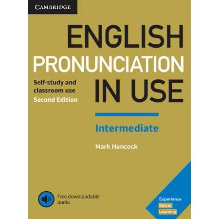 English Pronunciation In Use Intermediate Book With Answers And Downloadable Audio Walmart Com Word Stress Pronunciation English Reading