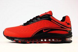 Mens Nike Air Max Deluxe Og 1999 Kpu Shoes October Red Black Nike Nsz006469 Nike Air Max Nike Air Max 97 Nike Air