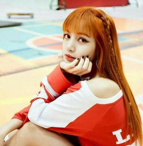 Lalisa Manoban Orange Hair | Blackpink, Lalisa manoban, Lisa
