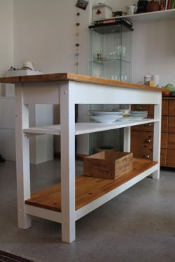 Hacking IKEA\'s FÖRHÖJA Kitchen Cart | Kitchen carts, Kitchens and ...