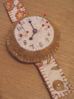 LucyKate Crafts...: Tick, tock...,