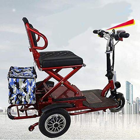 Qhz Elektro Dreirad Im Freien Beweglichen Folding Freizeit Scooter 48v20ah Lithium Batterie Hhaltsklein Freizeit Skateboard Riding Dreirad Kinderfahrrad Roller