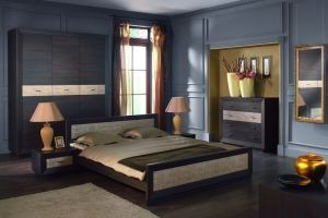 Largo Brw Bedroom Furniture Set This Has Characteristic Thick Concave Frames Surrounding Fronts