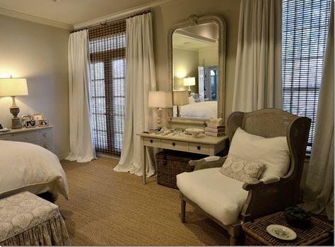 {Webb Design:  Master Bedroom Redecorated}  Cote de Texas