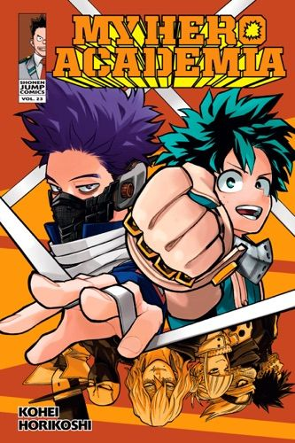 Read Download My Hero Academia Vol 23 By Kohei Horikoshi For