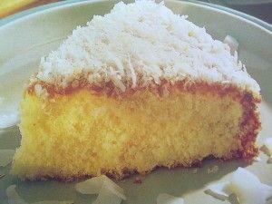 طريقة سهلة لتحضير كيكة جوز الهند الصفحة العربية Cake Desserts Food