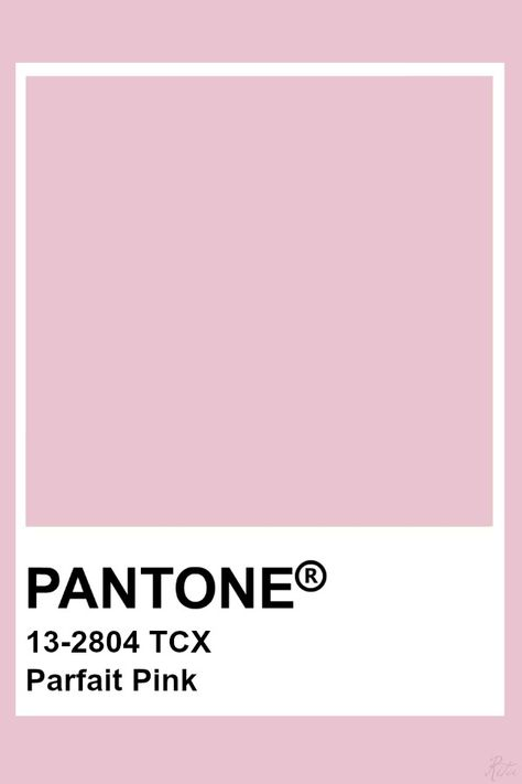 Pantone Parfait Pink