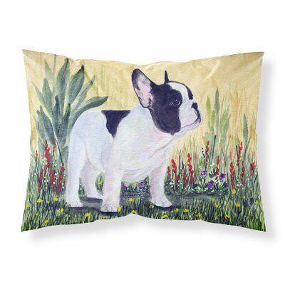 East Urban Home Bulldog Moisture Wicking Pillowcase Carolines