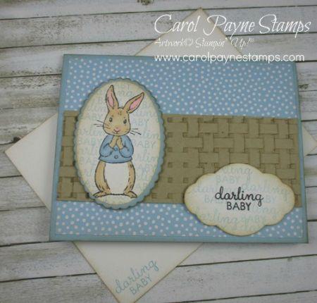 Darling Baby Handmade Card