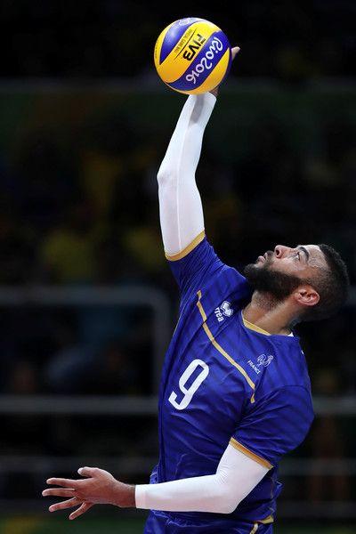 Earvin Ngapeth Photos Photos Volleyball Olympics Day 10 Olympic Volleyball Volleyball Photography Volleyball Photos