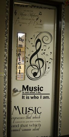 Classroom Doors - Be All You Can... (Picture Heavy Post) & This music is noteworthy. \u2026   Pinteres\u2026