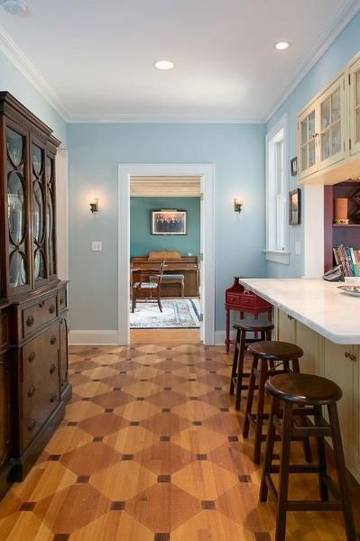 Exquisite Detailing In The Hand Crafted Hardwood Floor In The Butleru0027s  Pantry Is A Gift To Appreciate For Years To Come. U2014 In Basking Ridge Lisa  Kirkwood ...