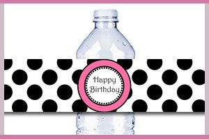 Free Printable Water Bottle Label @Nikki Bailey here's another one
