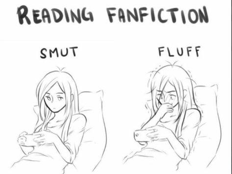 The attitude of a fangirl towards different kinds of fanfiction Stupid Funny Memes, Funny Relatable Memes, Relatable Posts, Hilarious, Fandoms, Fangirl Problems, Mundo Comic, Fandom Memes, Levi X Eren