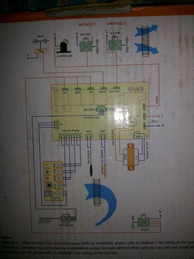 Air conditioner Indoor Blower Fan Motor Wiring on Universal PCB -  DoItYourself.com Community Forums   Refrigeration and air conditioning, Blower  fans, Fan motor   Hvac Indoor Fan Relay Wiring Schematic      Pinterest