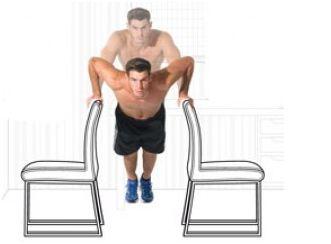 ejercicios para hacer en casa pectorales