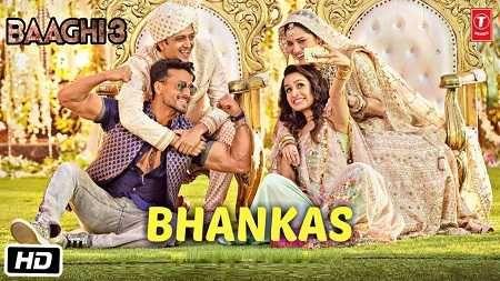 Bhankas Song Mp3 Download Baaghi 3 Movie 2020 Di 2020 Lagu Bollywood Gandhi