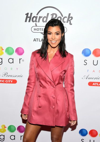 Kourtney Kardashian hosts the grand opening of Sugar Factory at Hard Rock Hotel & Casino Atlantic City.