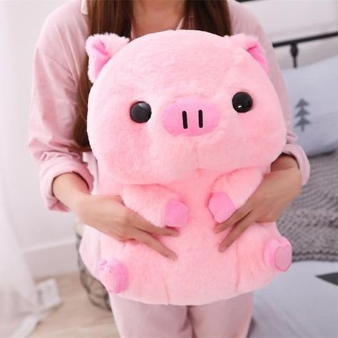 26/40cm Cartoon Cute Pink Pig Plush Toy